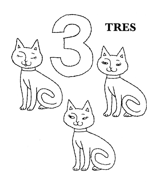 Free Coloring Pages Of In Spanish 1 10
