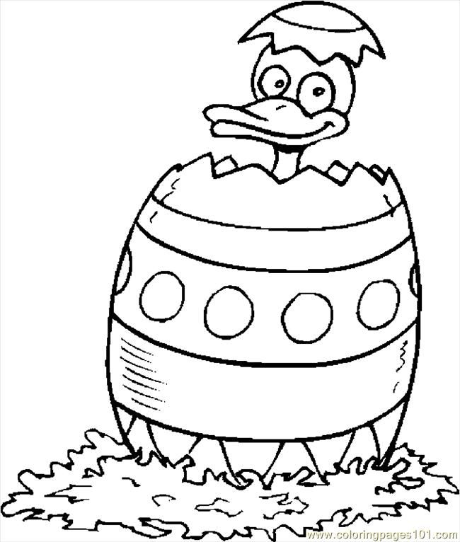 duck egg coloring pages - photo#7