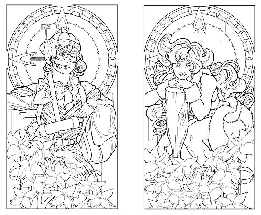 Deco Colouring Pages Page 3 Coloring Home Deco Coloring Pages