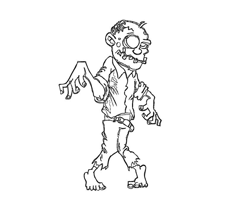 printable minecraft zombies coloring pages - Quoteko.