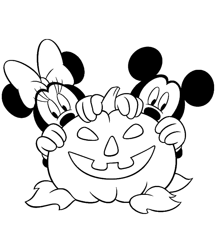 Mickey mouse and minnie mouse coloring pages az coloring for Mickey mouse minnie mouse coloring pages