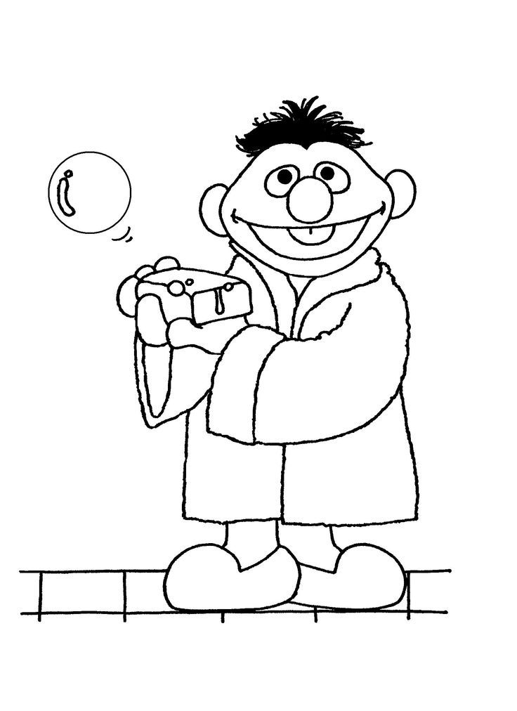 Coloring Pages - Sesame Street