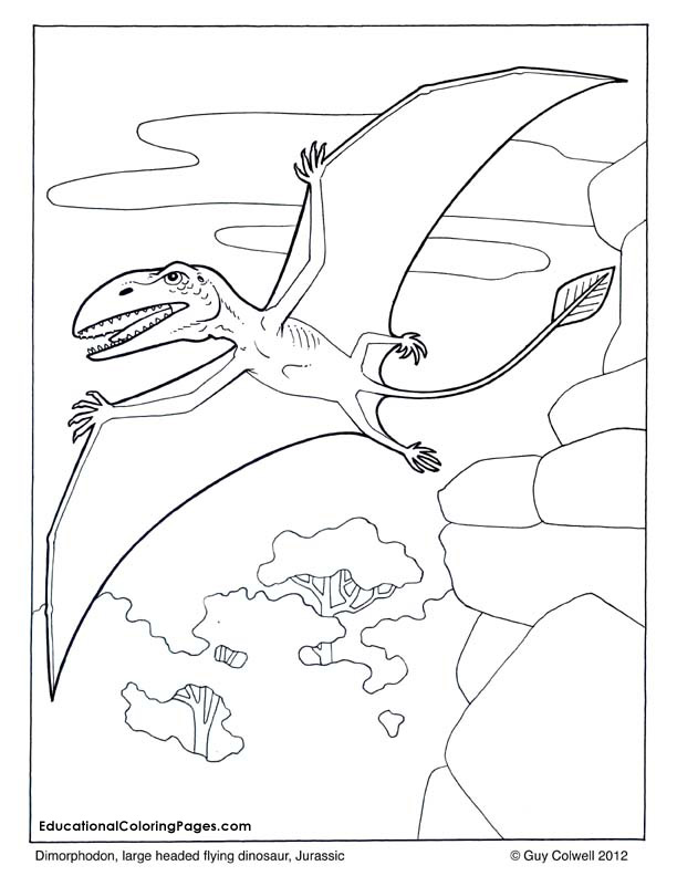 Dinosaurs and early mammals coloring books for Baryonyx coloring pages