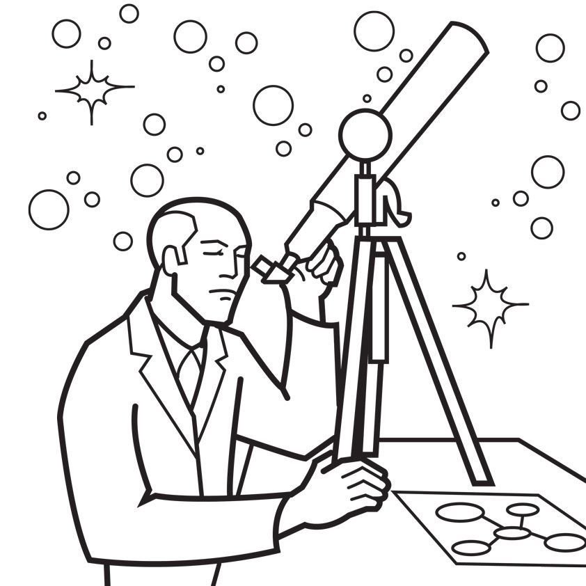 Astronomy Coloring Pages Coloring