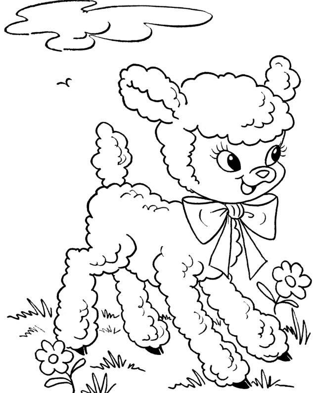 Free Printable Colouring Pages Easter 2014 | Sticky Pictures