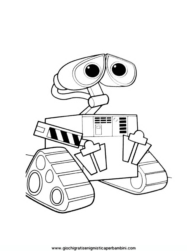 wall_e coloring pages - photo#4