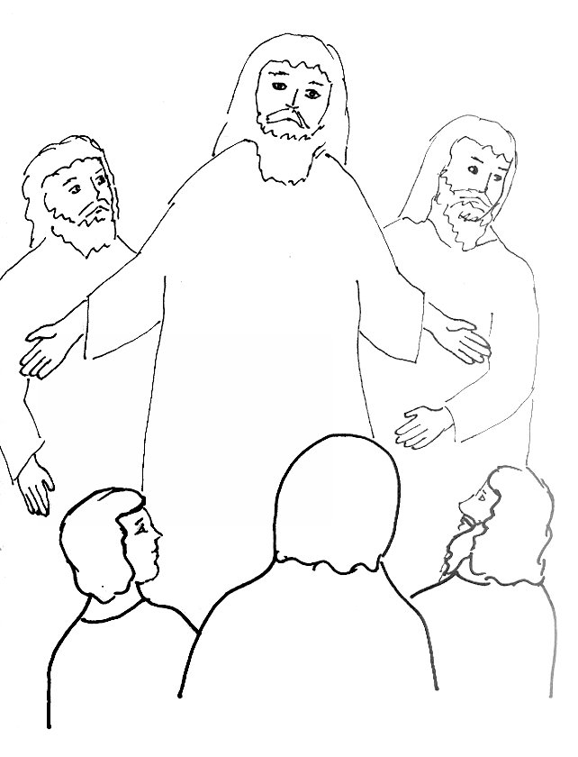 Free Coloring Pages Of Daughter Of Jairus Jairus Coloring Page