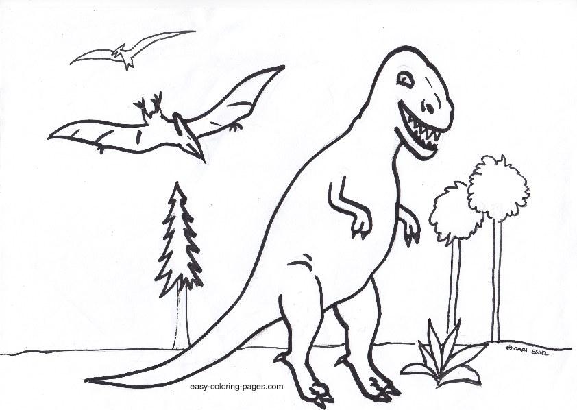 Coloring Pages Of Sleeping Animals : Animal coloring stegosaurus sleeping dinosaur
