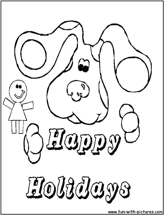 ... Para Colorear IMAGIXS 268886 Happy Holidays - AZ Coloring Pages