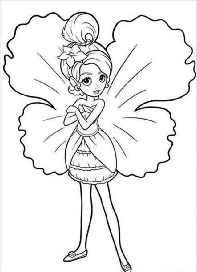 thumberlina coloring pages - photo#36