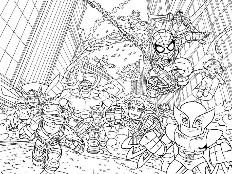 Marvel Characters Coloring Pages Marvel Coloring Pages Marvel Characters Coloring Pages
