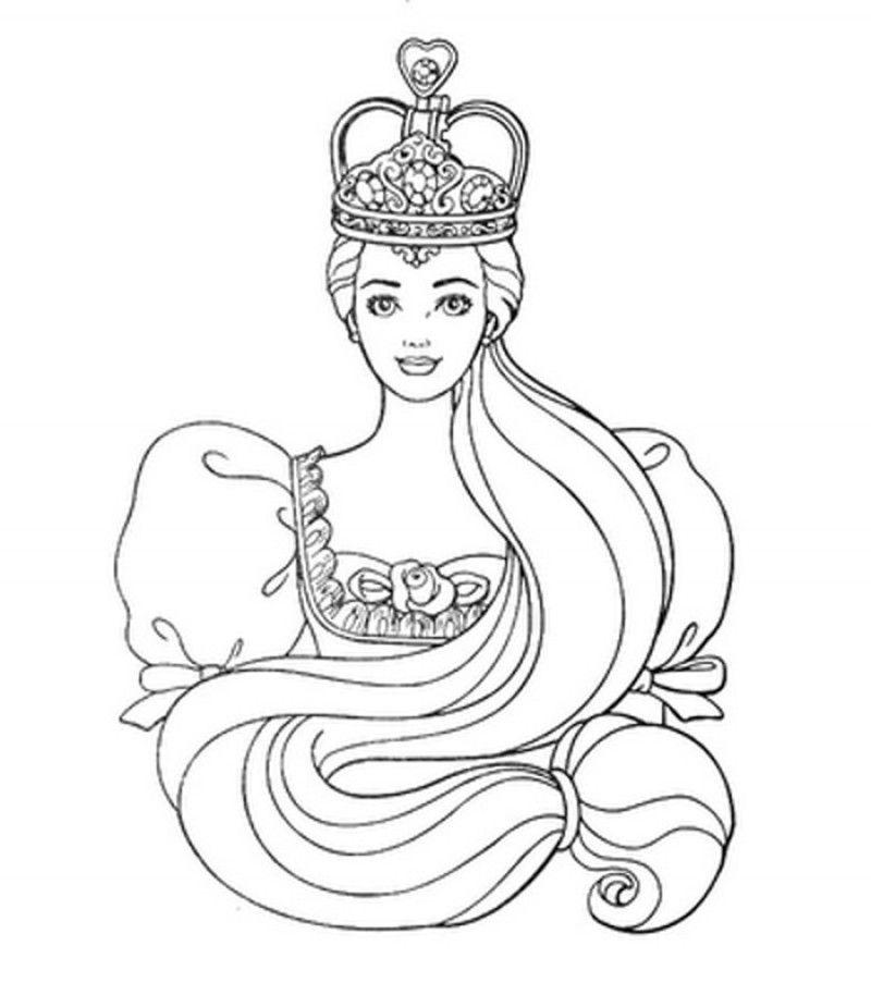 princess crown coloring pages - heart princess crown coloring sheet coloring pages