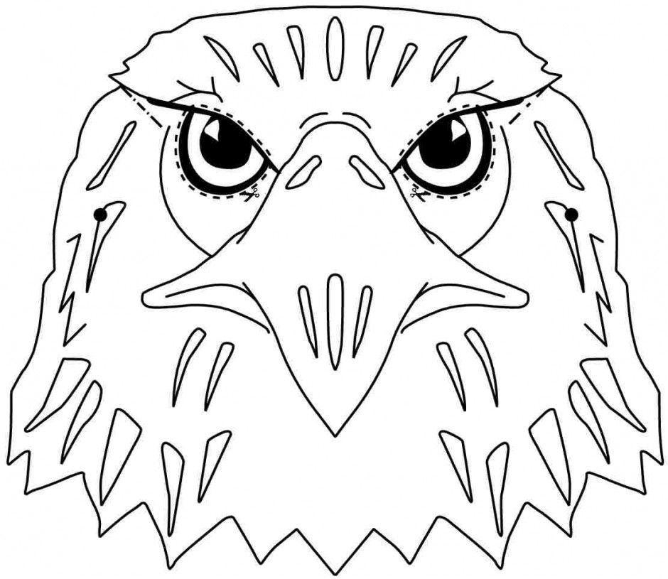 philadelphia eagles coloring pages - printable pictures of eagles coloring home