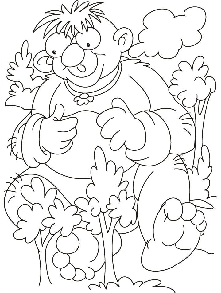 giant christmas coloring pages - photo#14