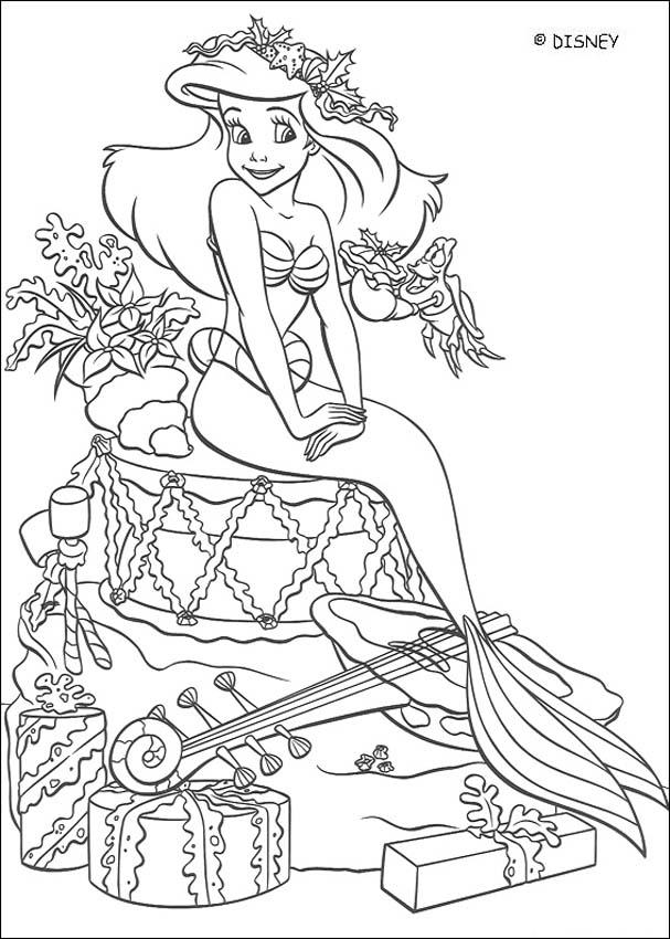 Pics Of Ariel The Little Mermaid - Coloring Home