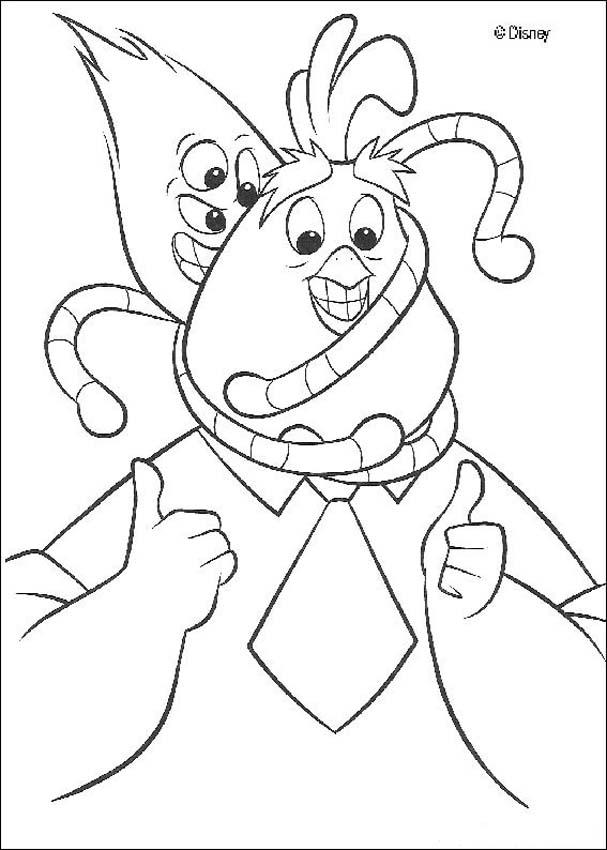 Chicken Little Coloring Pages Coloring Home