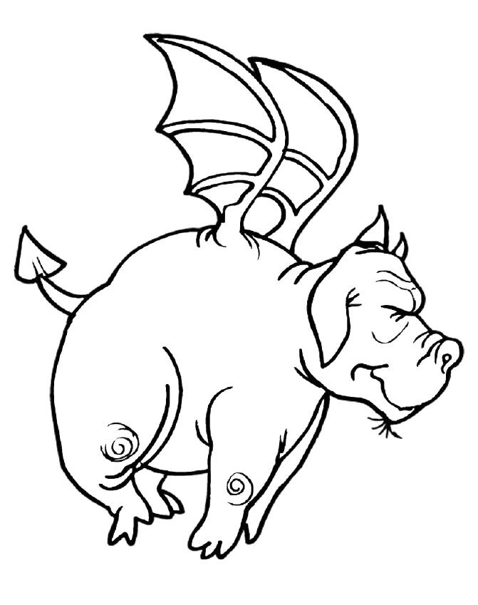 Flying Dragon Coloring Pages Fat Dragon Fly Coloring Pages