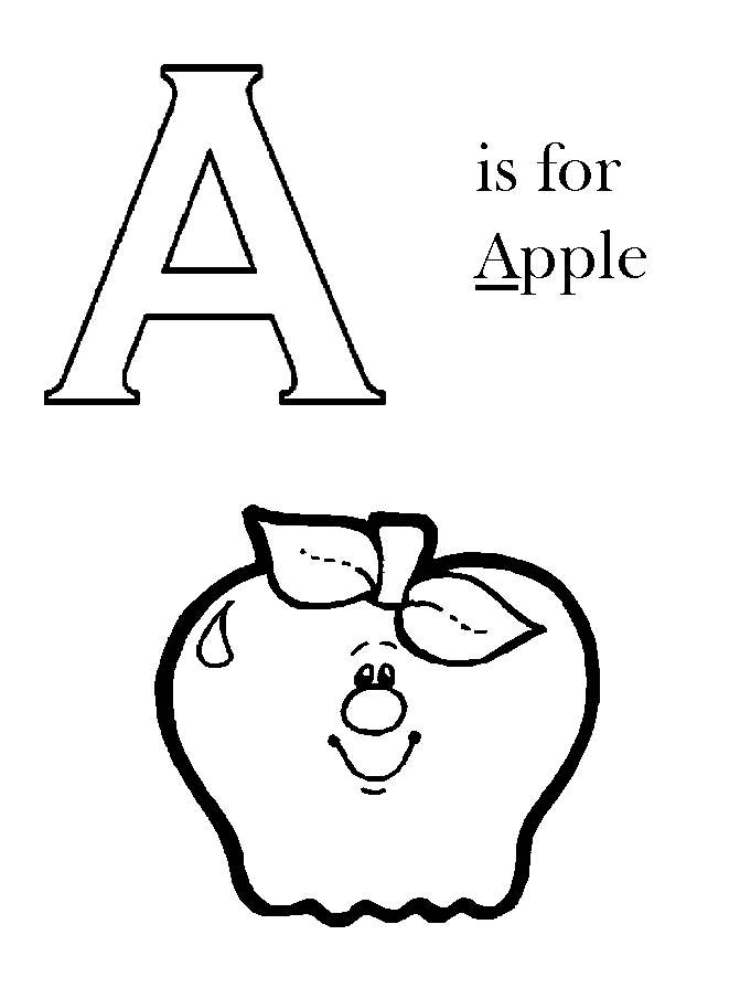 Colouring Pages Of Abc : Abc coloring pages printable az
