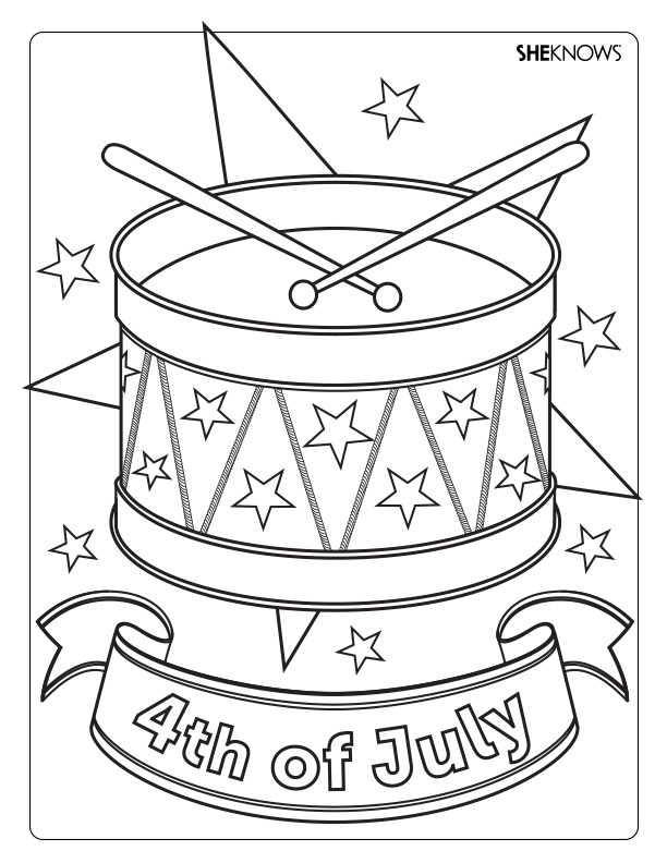 Drum coloring page az coloring pages for Drum coloring pages to print