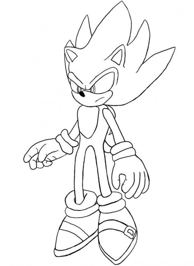 Sonic unleashed coloring pages az coloring pages for Metal sonic coloring pages