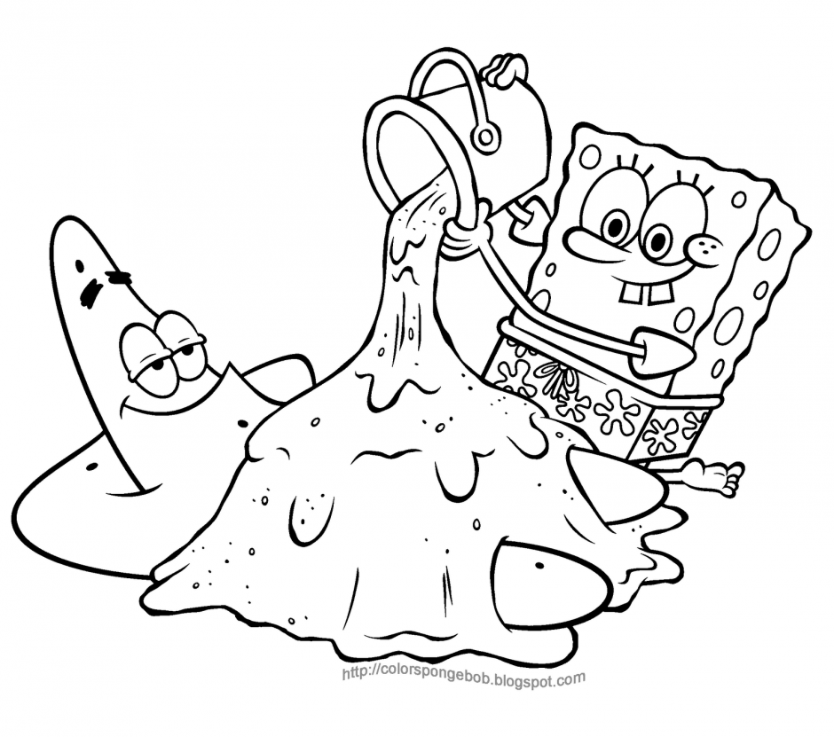 printable spongebob coloring pages coloring pages 247262 spongebob - Printable Spongebob Coloring Pages