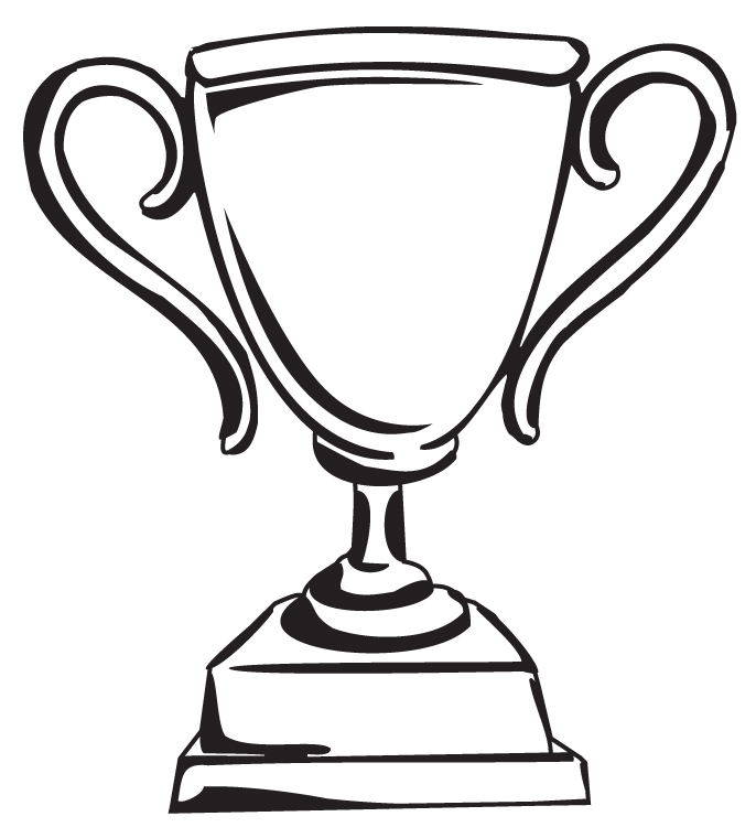 coloring pages trophy - photo#24