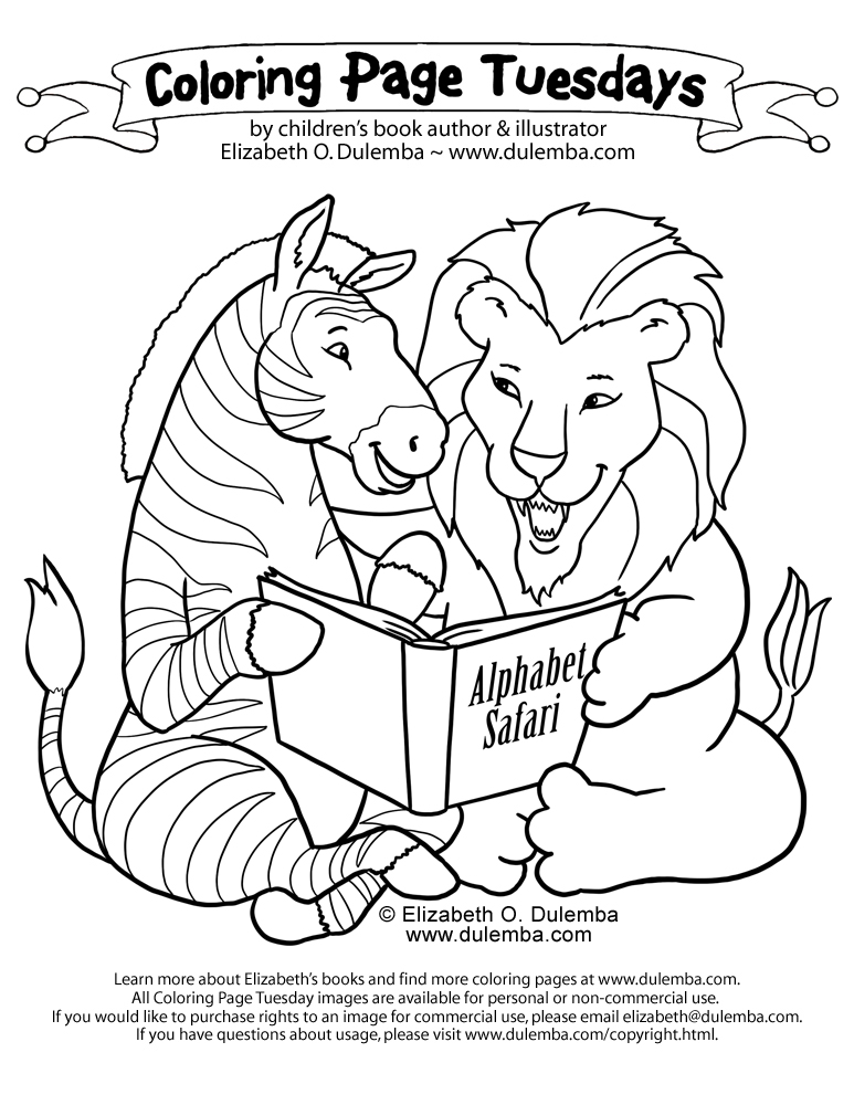 coloring pages for free. Safari coloring pages are a fun way for kids ...