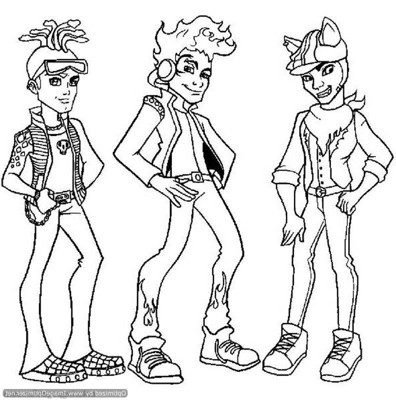 Monster High Print Out Coloring Pages Az Coloring Pages High Coloring Pages To Print Out
