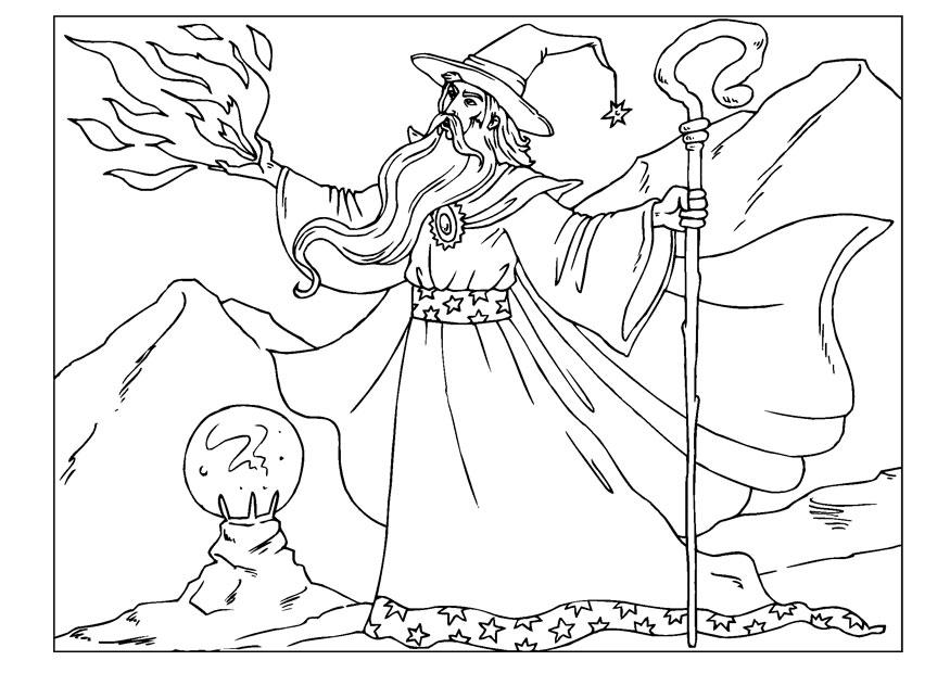 coloring page wizard  img 22602  coloring home