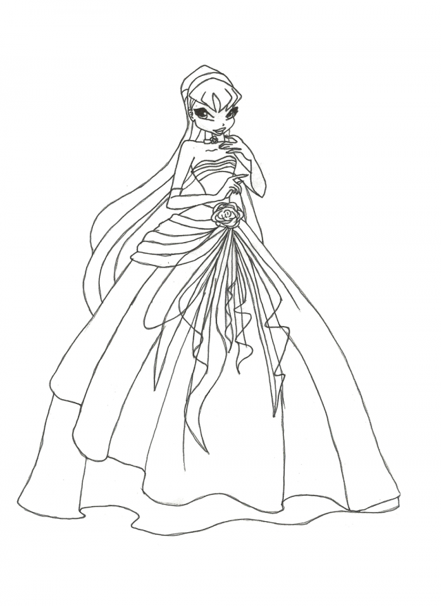 Coloring Pages Winx Club - Coloring Home | 879x640