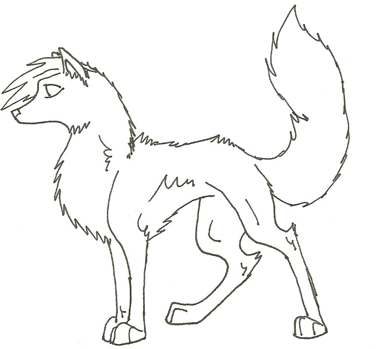 Free face of wolf coloring pages
