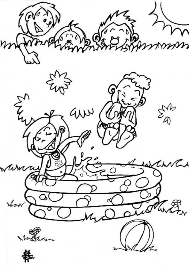 Clothes coloring coloring home for Coloring pages of summer clothes