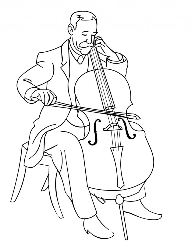 free music coloring pages printable - music notes printable az coloring pages