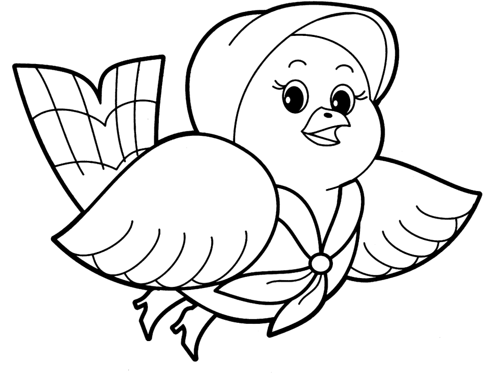coloring pages baby animals - photo#22
