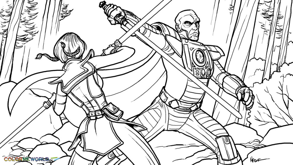 Star wars the clone wars coloring pages az coloring pages for Star wars clone wars coloring pages