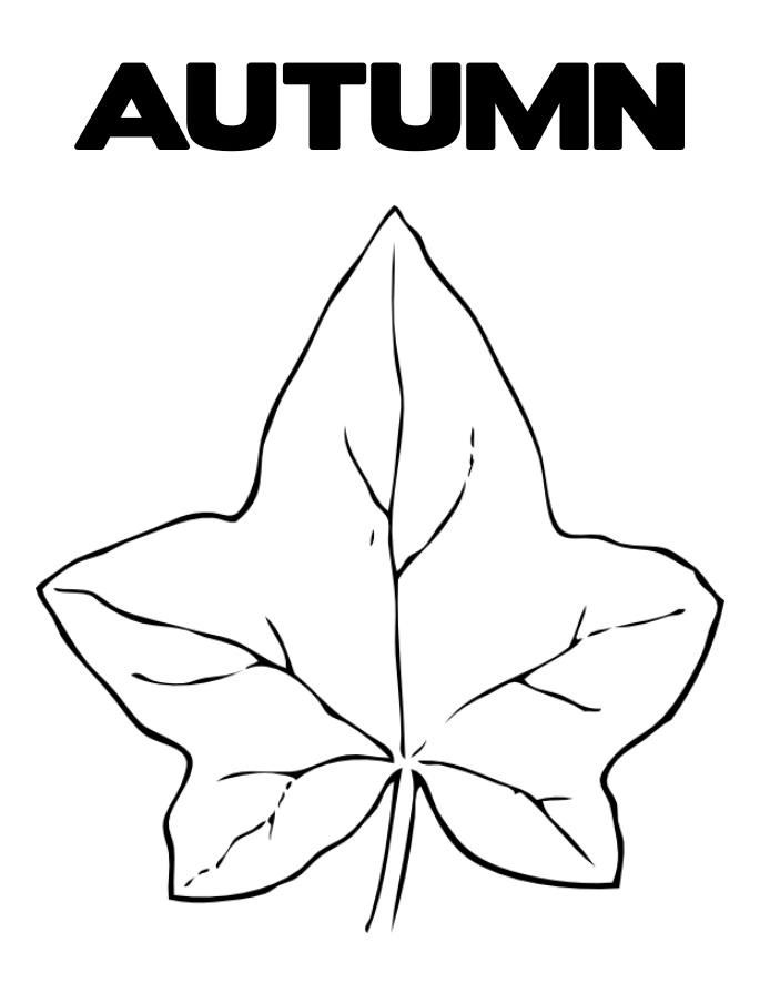 Autumn Leaf Coloring Pages Printable | Coloring - Part 2