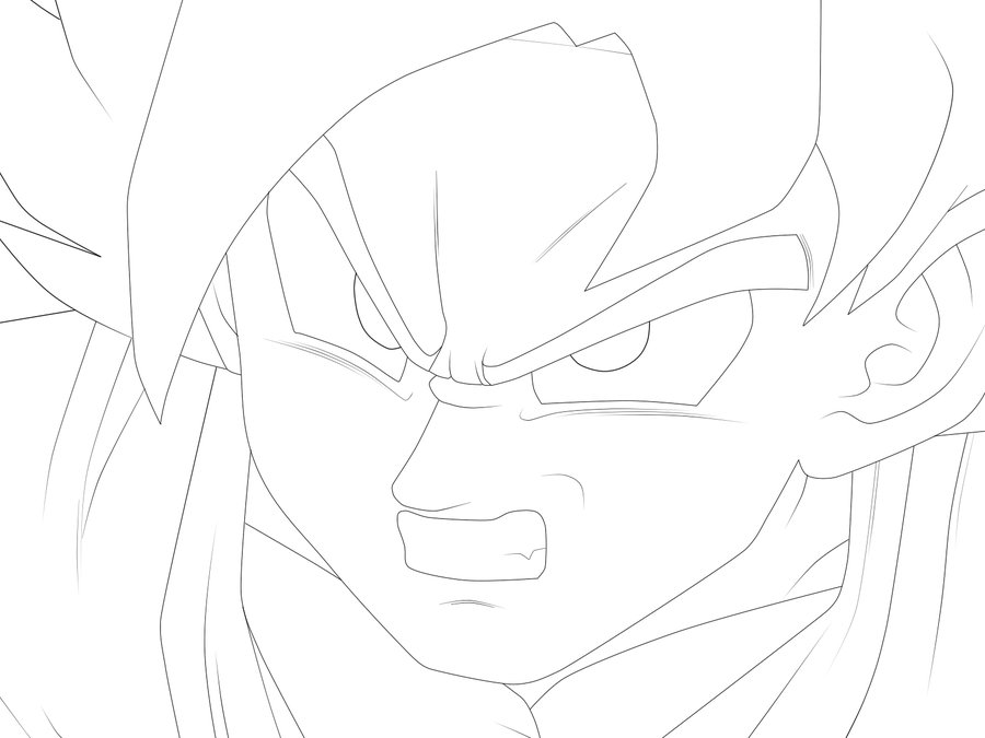 Dragon Ball z Cartoon Drawings Cartoon Coloring Dragon Ball z