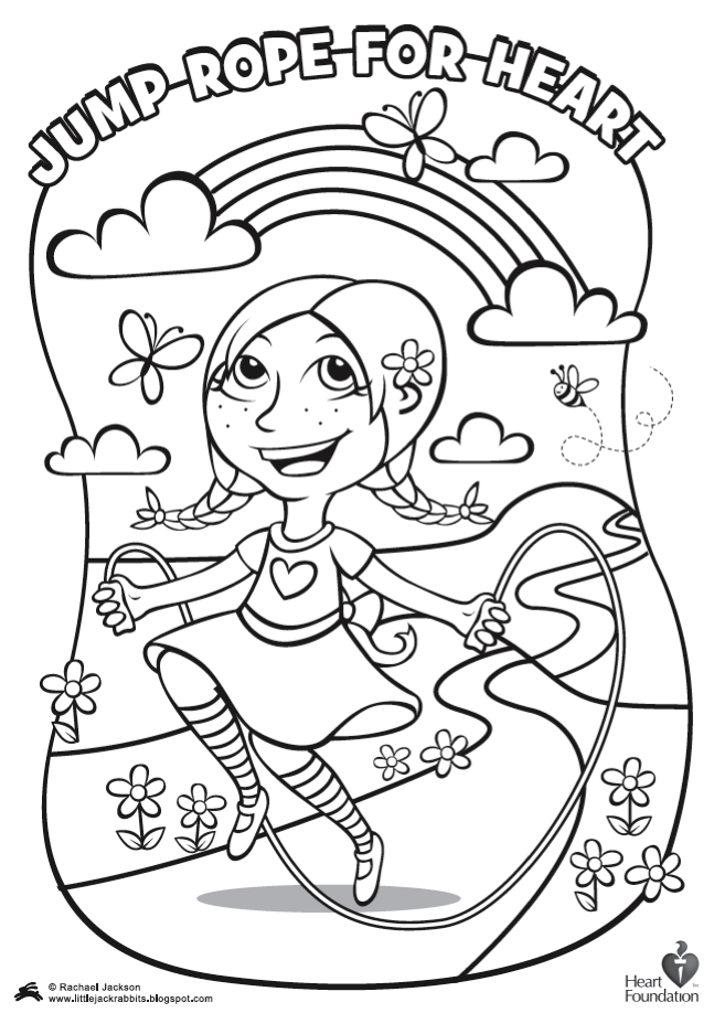 Fitness Coloring Pages For Kids Coloring Home