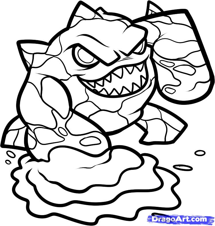 Skylander Coloring Pages To Print Az Coloring Pages Skylander Colouring Pages