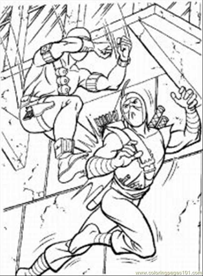 gi joe coloring pages coloring home
