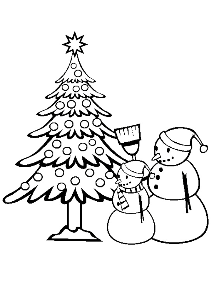 Christmas Tree Coloring Pages - Picture 24 – Christmas Tree