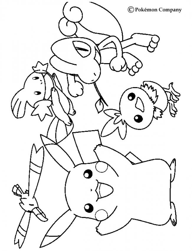 Cute Pokemon Coloring Pages - Coloring Home