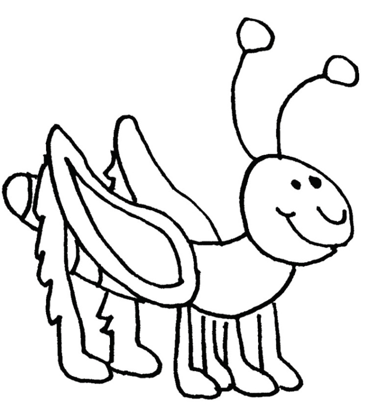 Grasshopper Coloring Page Az Coloring Pages Grasshopper Coloring Page