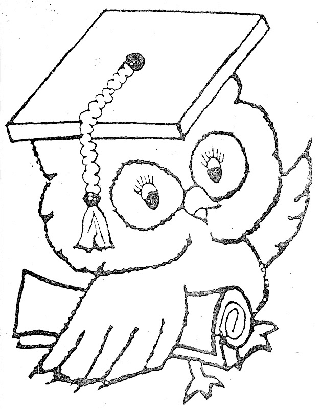 graduation cap coloring page az coloring pages G Is for Graduation  Coloring Graduation Cap