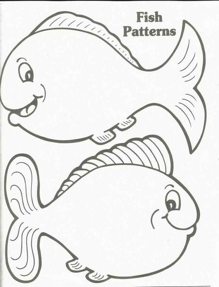 Printable Fish Template