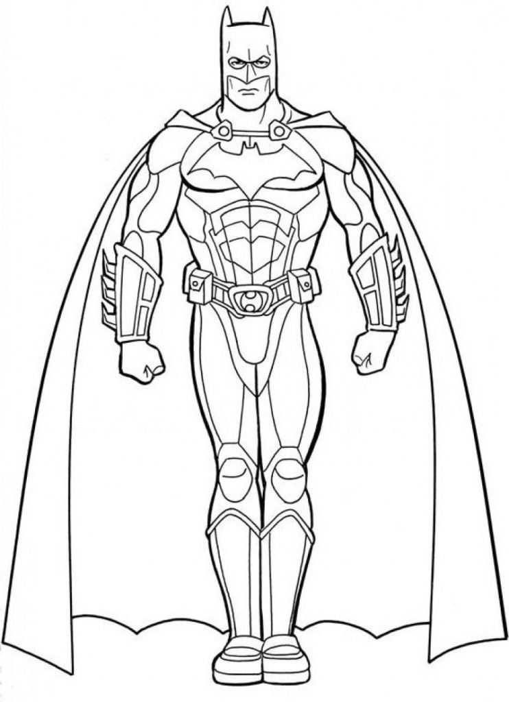 coloring pages batman villains - photo#16