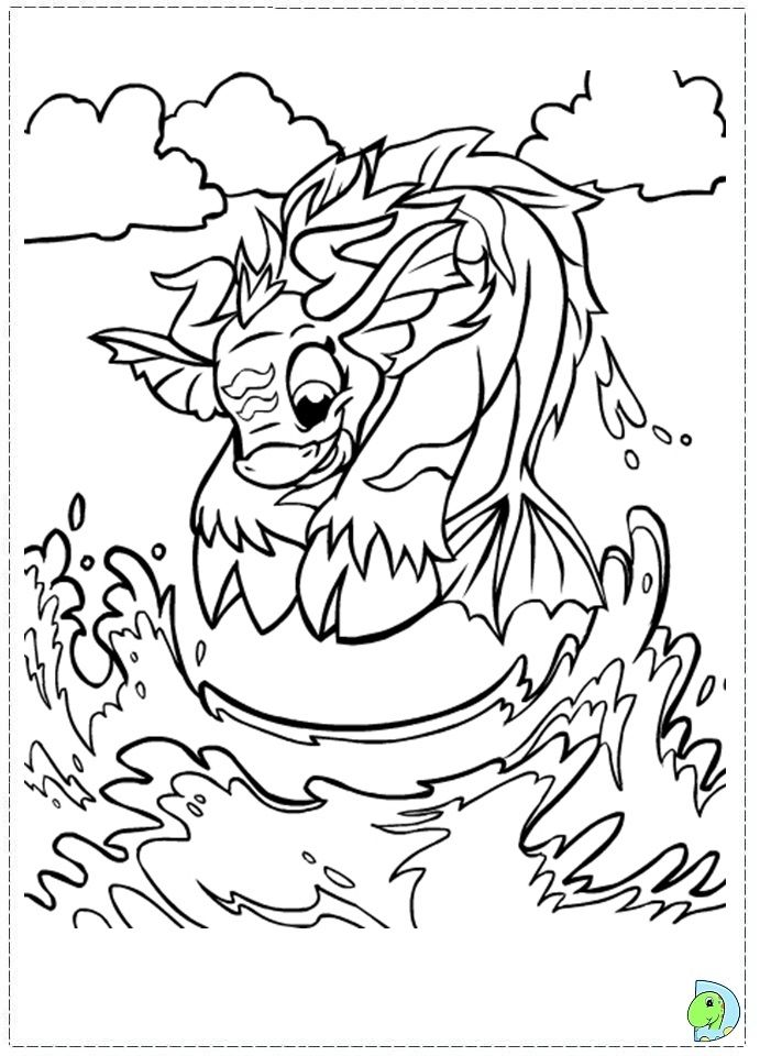 Neopets Faerieland Coloring Pages - Coloring Home