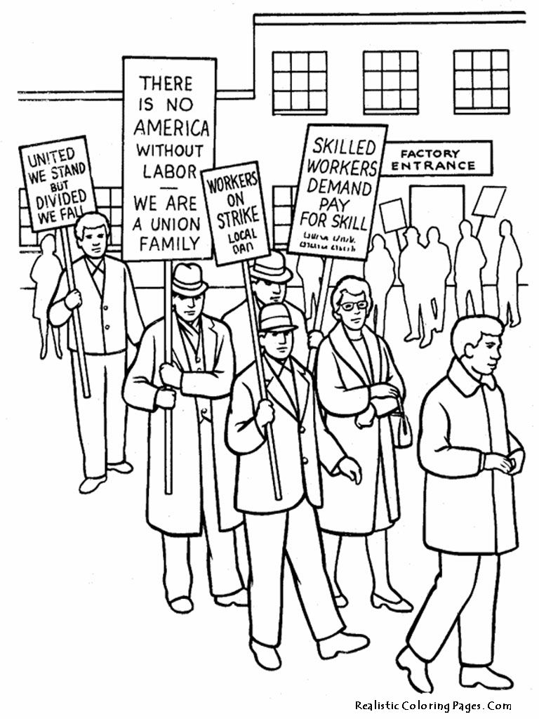 human rights coloring pages - coloring home - Labor Day Coloring Pages Kids