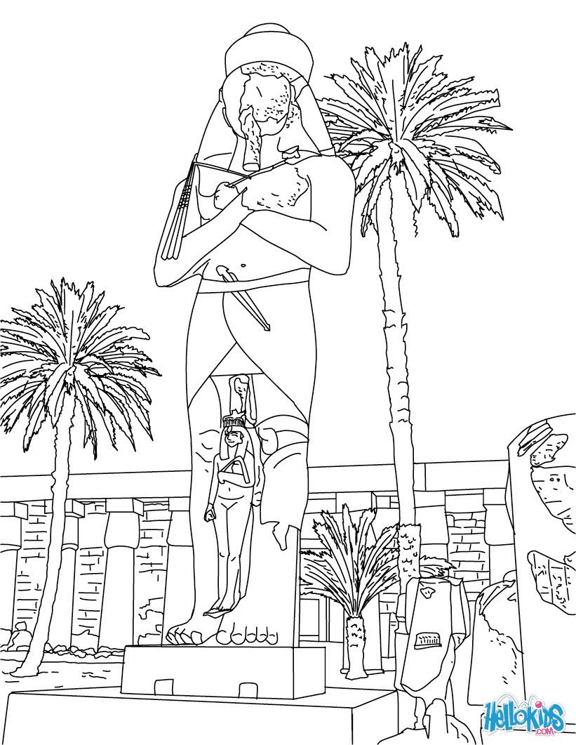 sphinx coloring page coloring home