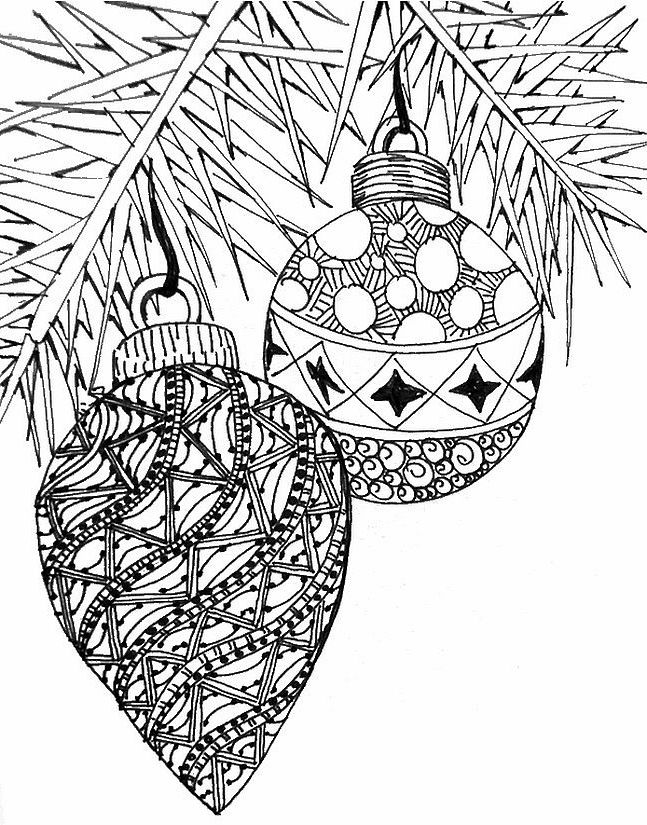 Impressive Christmas Adult Coloring Pages - Best Christmas Moment